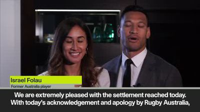 'We have been vindicated' – Folau please with settlement