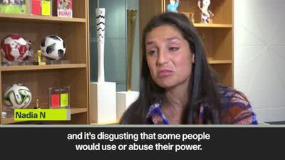 Nadia Nadim on 'brave' Afghan female sexual abuse victims