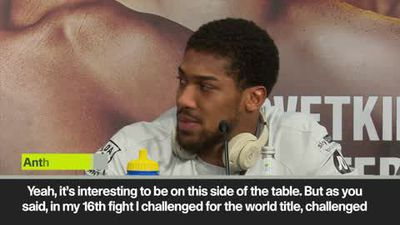 'I've got challenger's mentality' Joshua vs Ruiz Jr.
