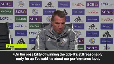 Leicester title talk 'too early' - Brendan Rodgers after win vs. Watford