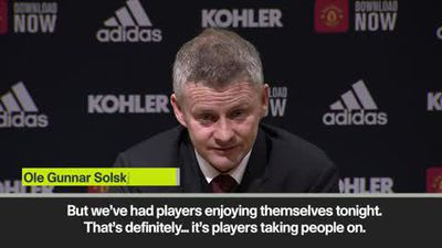 'The players enjoyed themselves tonight' - Solskjaer on beating Spurs