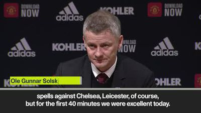 'One of our best performances' - Solskjaer after Man Utd beat Spurs 2-1