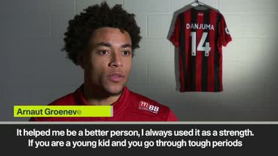 """I went from being homeless to the Premier League,"" says Bournemouth winger Groeneveld"