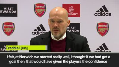 'It's totally up to the club' Ljungberg on his future