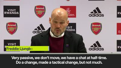 'Arsenal didn't show up in the first half' - Ljungberg on a 2-1 loss to Brighton