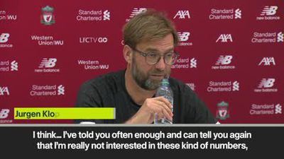 "Klopp not interested in Liverpool being ""top of the Christmas tree"" at end of year"