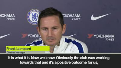 "Lifting of Chelsea transfer ban is a ""good thing"" - Lampard"