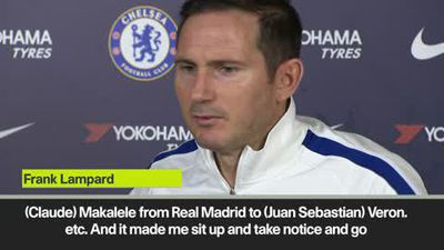 Signings could inspirte squad like Makalele and Veron did for me - Lampard