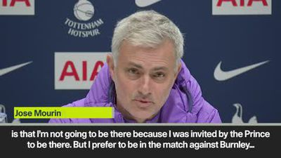 """Mourinho reveals """"only bad thing about Spurs job"""" is missing Joshua fight"""