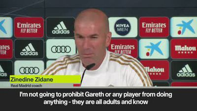 No golf ban for Gareth - Zidane