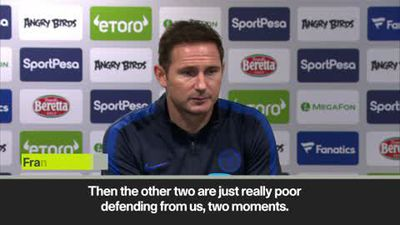 'An extra dangerous time to play Everton' says Lampard after seeing his side lose 3-1 at Goodison...