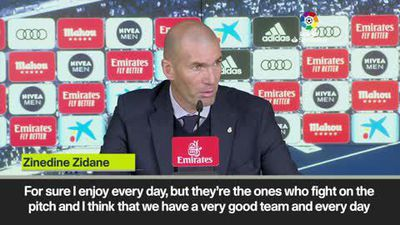 Zidane 'proud' of Real Madrid's recovery from a poor start to La Liga following 2-0 win over Espa...