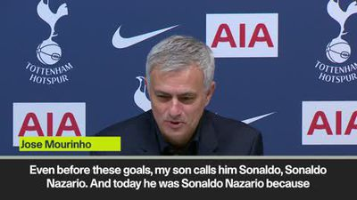 Mourinho compares Son to Ronaldo Nazario after wondergoal during 5-0 demolition of Burnley