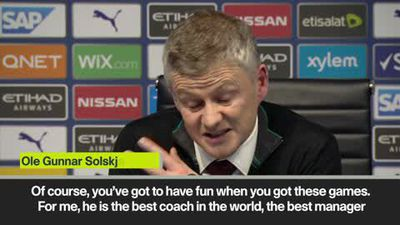'I've read Pep's books' says Solskjaer after beating 'the best manager in the world' in Mancheste...