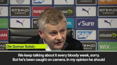Solskjaer calls for Man City to hand fan lifetime ban for alleged racial abuse
