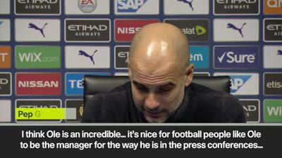 'I said Ole, today don't complain about hands' Guardiola