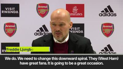 """Downward spiral"" must change says Ljungberg - but he refuses to give up on top four ahead of Wes..."