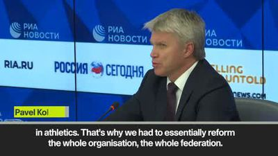 Russian Sports Minister says country have nothing to hide despite serious problems