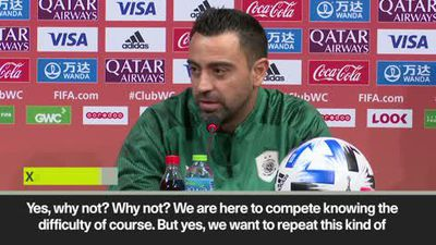 """We are here to compete and have success"" says Xavi ahead of Club World Cup"