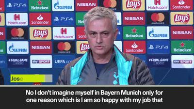 Mourinho not lining up future Bayern managerial role