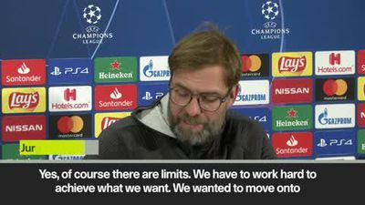 Liverpool do have limits - Klopp