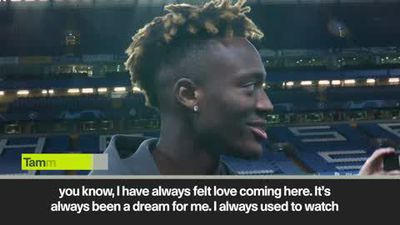 Tammy Abraham on dream rise from Chelsea academy to first team starter