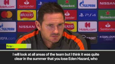 Lampard looking to replace Hazard influence in the transfer market