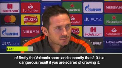 Lampard admits anger at Chelsea for failing to take chances in matches