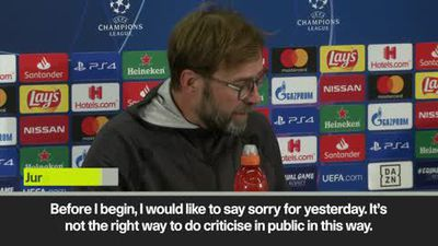 'I was an idiot, I'm sorry' - Klopp apologises to translater after correction goes viral