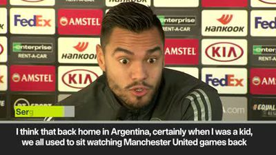 'Squad have ultimate respect' for Solskjaer says Romero