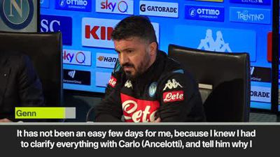 'Carlo proved that he is father to me' Gattuso replaces Ancelotti at Napoli