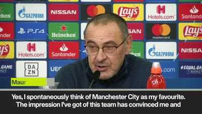 'Man City are favourites' Juventus coach Sarri