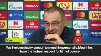 'I have highest respect for Mourinho' Sarri
