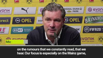 Haaland transfer questions bring mixed responses from Zorc and Favre as Dortmund prepare for Mainz
