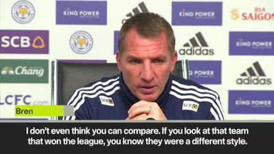 'Ranieri had charisma, I didn't' – Rodgers compares his Leicester to the team that won EPL in 201...