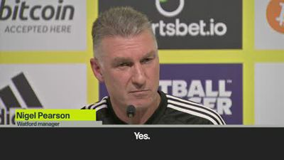 'Is that a question or statement'? Pearson toys with a journalist before telling of his belief Wa...
