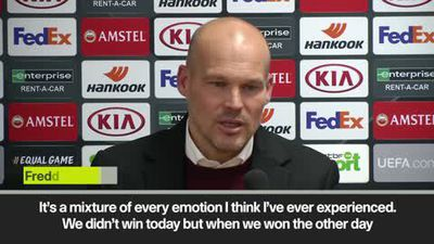 Ljungberg has mixed feelings as Arsenal fight back to draw with Liege and top the group