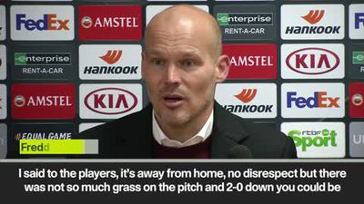 Ljungberg 'proud' of Arsenal as they fight back to draw 2-2 with Liege in the Europa League