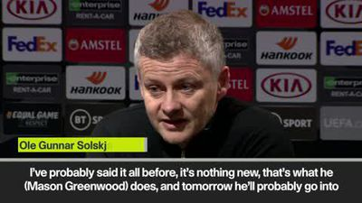 Solskjaer compares Greenwood to Rooney after his brace against AZ