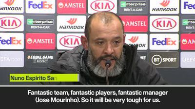 'Pleasure to host Mourinho' says Santos as Wolves get set for EPL clash with Tottenham