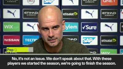 Guardiola rules out January signings