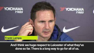 Top four 'up for grabs' says Lampard as Chelsea prepare for Bournemouth