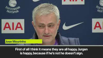 """Mourinho hails Klopp as """"one of the best"""" as he signs new contract at Liverpool"""
