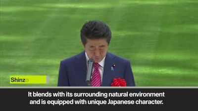 2020 Olympic stadium 'will prioritise the benefit of athletes' - Japan PM