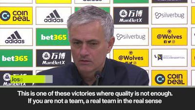 Mourinho hails attitude of Spurs players after 'very important' win