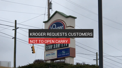 Kroger Asks Customers Not To Open Carry In Stores