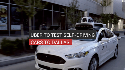 Uber To Test Self-Driving Cars In Dallas
