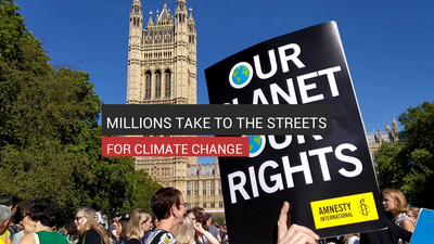 Millions Take To The Streets For Climate Change