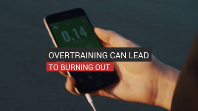 Overtraining Can Lead To Burning Out