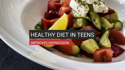 Healthy Diet in Teens Improves Depression